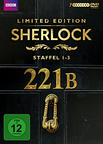 Sherlock Staffel 1-3 (Limited Edition) (exklusiv bei Amazon.de) (7 DVDs)
