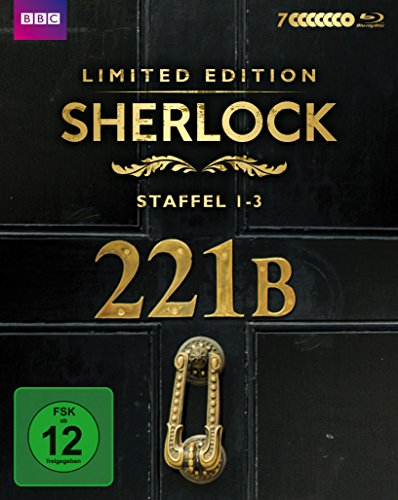 Sherlock Staffel 1-3 (Limited Edition) [Blu-ray]