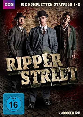Ripper Street Staffel 1+2 Boxset (Limited Edition) (6 DVDs)