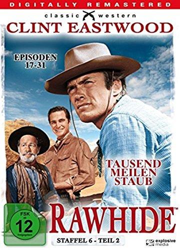 Rawhide Tausend Meilen Staub - Season 6.2 (4 DVDs)