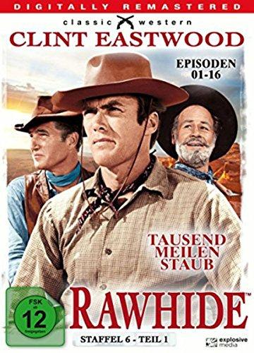Rawhide Tausend Meilen Staub - Season 6.1 (4 DVDs)