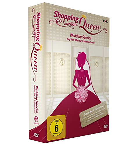 Shopping Queen Wedding Special (+Buch) (4 DVDs)