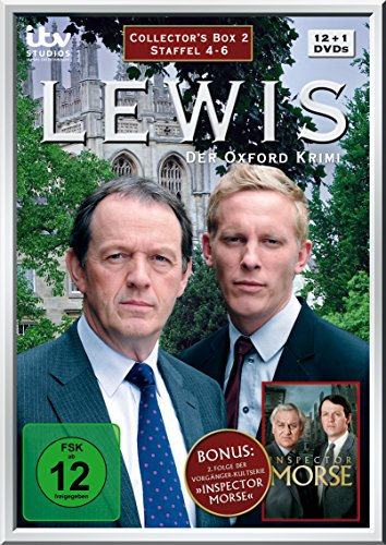 Lewis - Der Oxford Krimi Collector's Box 2 (Staffel 4-6) (13 DVDs)