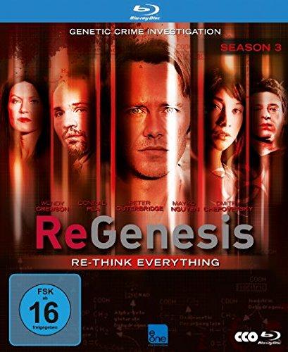 ReGenesis Season 3 (OmU) [Blu-ray]