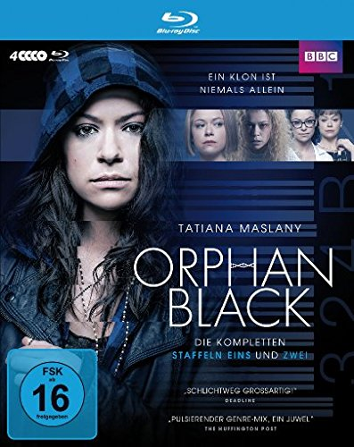 Orphan Black Staffel 1 & 2 (Limited Edition) [Blu-ray]