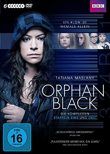 Orphan Black Staffel 1 & 2 (Limited Edition) (6 DVDs)