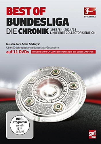 Best of Bundesliga - Die Chronik 1963-2015 (Limited Collector's Edition) (11 DVDs)