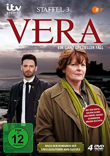 Vera - Ein ganz spezieller Fall: Staffel 3 (4 DVDs)