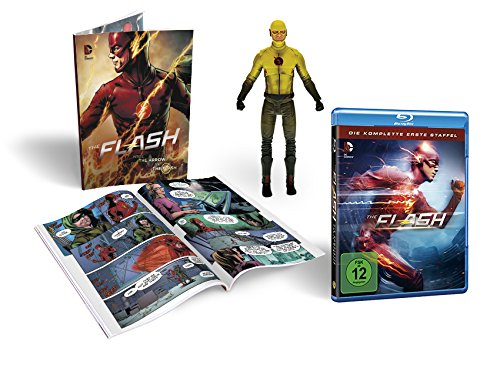 The Flash Staffel 1 (inkl. Comicbuch + Figur) [Blu-ray]