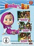 Mascha und der Bär, Vols. 1+2+4 (3 DVDs)