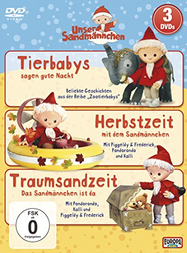 Unser Sandmännchen 4+5+7 (3 DVDs)