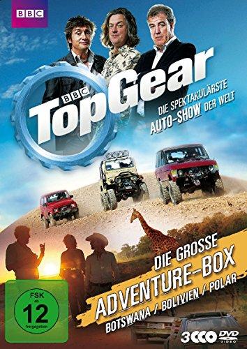 Top Gear Die große Adventure-Box (3 DVDs)