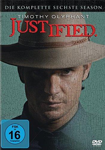 Justified Season 6 (3 DVDs)