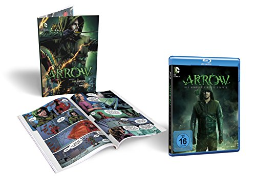 Arrow Staffel 3 (Limited Edition inkl. Comicbuch) (exklusiv bei Amazon.de) [Blu-ray]