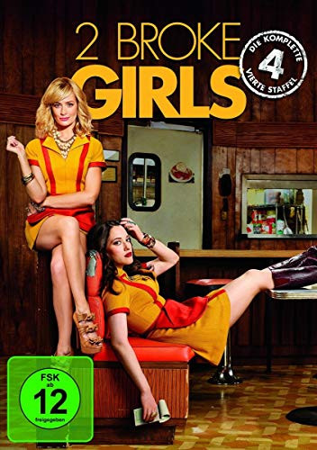 2 Broke Girls Staffel 4 (3 DVDs)