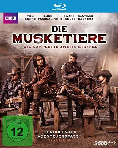 Die Musketiere Staffel 2 [Blu-ray]