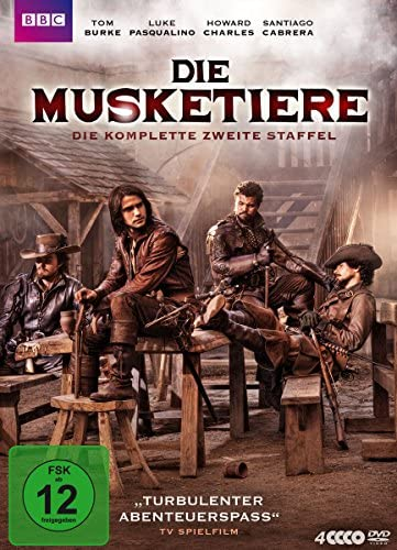 Die Musketiere Staffel 2 (4 DVDs)
