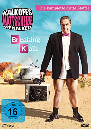 Kalkofes Mattscheibe: Rekalked! - Staffel 3: Breaking Kalk (4 DVDs)