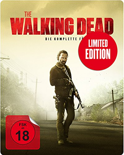 The Walking Dead Staffel 5 (Uncut) (Steelbook) [Blu-ray]