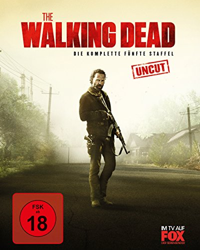The Walking Dead Staffel 5 (Uncut) (Limited Postcard Edition) [Blu-ray]