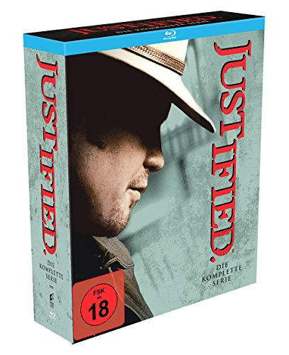 Justified Die komplette Serie (Deluxe Gift Set) (Limited Edition) [Blu-ray]