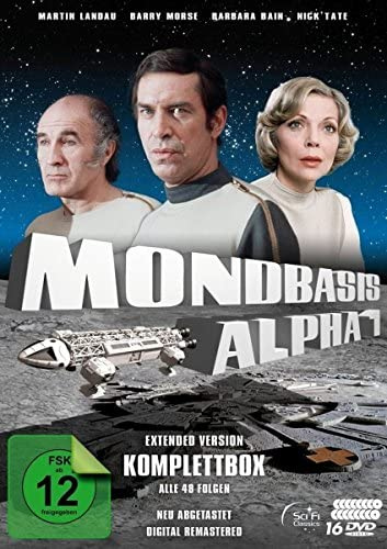 Mondbasis Alpha 1 Komplettbox (Extended Version Neuabtastung) (16 DVDs)