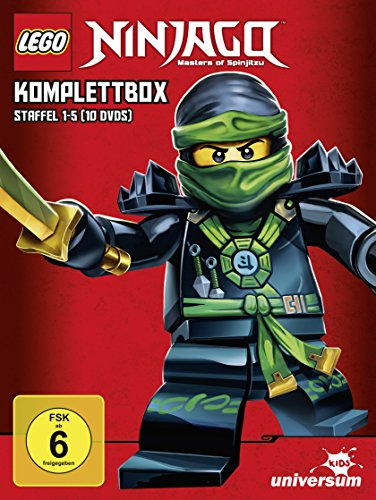 LEGO Ninjago Staffel 1-5 Komplettbox (10 DVDs)
