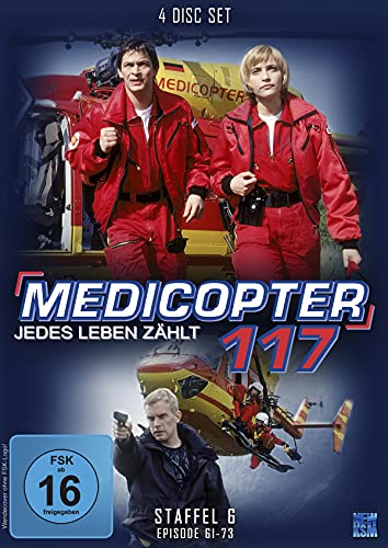 Medicopter 117 Staffel 6 (4 DVDs)