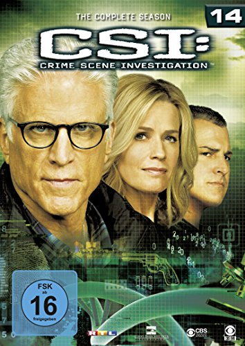CSI Season 14 (6 DVDs)