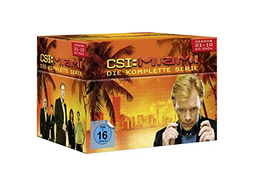 CSI: Miami Seasons  1-10 (60 DVDs)