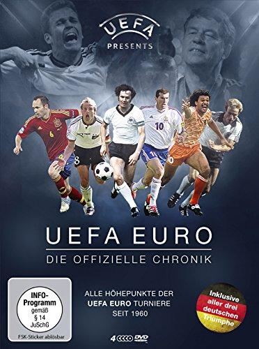 UEFA Euro Die offizielle Chronik (4 DVDs)