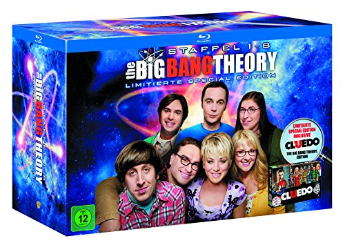 The Big Bang Theory Staffel  1-8 (Limited Edition inkl. Cluedo) [Blu-ray]