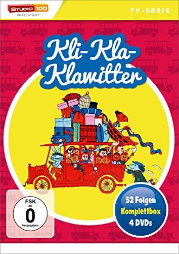 Kli-Kla-Klawitter Komplettbox (4 DVDs)