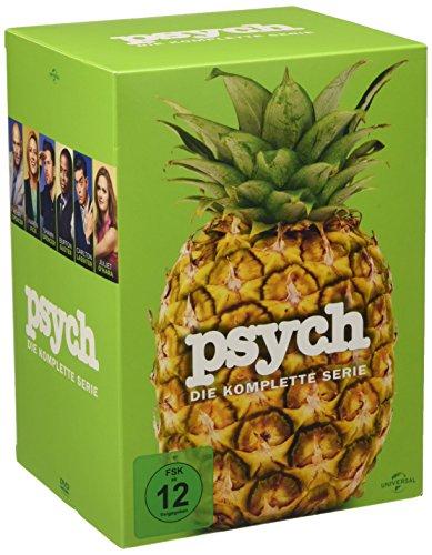 Psych Die komplette Serie (31 DVDs)