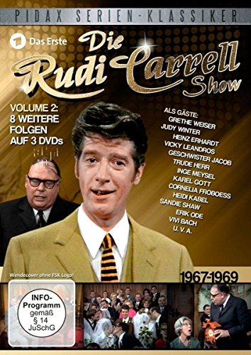 Die Rudi Carrell Show, Vol. 2 (1967-1969) (3 DVDs)