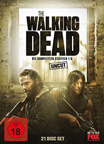 The Walking Dead Staffeln 1-5 (21 DVDs)