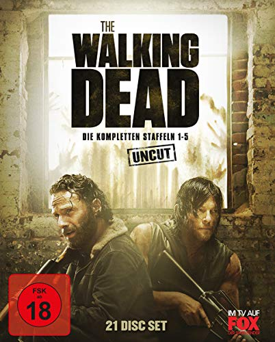 The Walking Dead Staffeln 1-5 [Blu-ray]