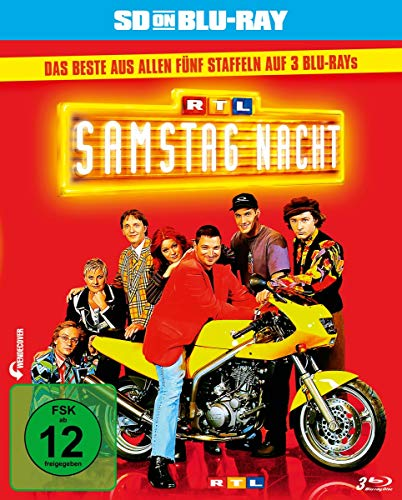 RTL Samstag Nacht Das Beste aus allen fünf Staffeln [SD on Blu-ray]