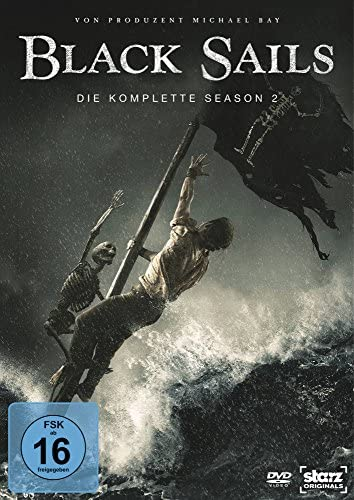 Black Sails Staffel 2 (4 DVDs)