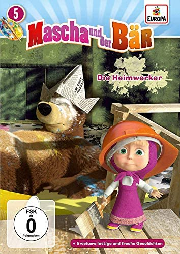Mascha und der Bär, Vol. 5 - Die Heimwerker