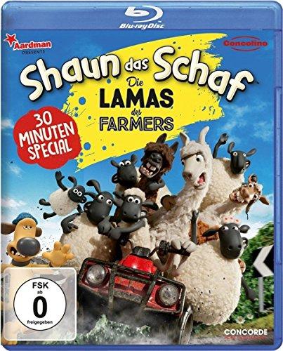 Shaun das Schaf Die Lamas des Farmers [Blu-ray]