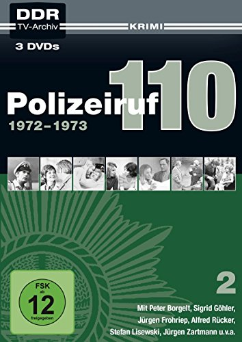 Polizeiruf 110 Box  2: 1972-1973 (DDR TV-Archiv) (Softbox) (3 DVDs)
