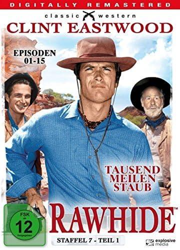 Rawhide - Tausend Meilen Staub - Season 7.1 (4 DVDs)