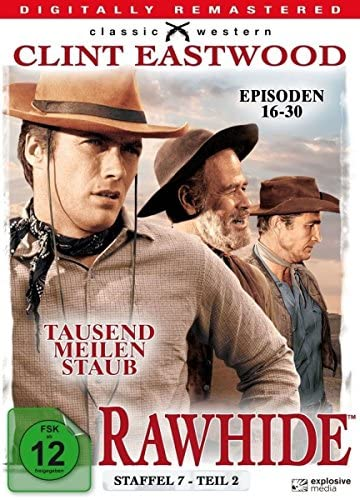 Rawhide Tausend Meilen Staub - Season 7.2 (4 DVDs)