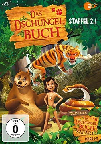 Das Dschungelbuch Staffel 2.1 (+Dschungelbuch-Safari, Folge 1-8) (2 DVDs)