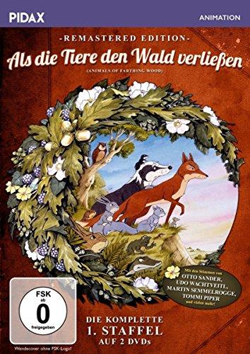 Als die Tiere den Wald verließen Staffel 1 (Remastered Edition) (2 DVDs)