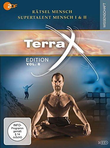 Terra X - Edition Vol. 6: Rätsel Mensch - Supertalent Mensch I & II (3 DVDs) Edition, Vol. 6: Rätsel Mensch - Supertalent Mensch I & II (3 DVDs)