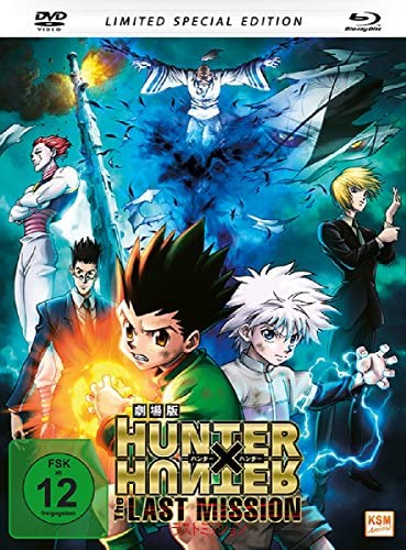 Hunter x Hunter - The Last Mission (Special Edition im Mediabook inkl. DVD) [Blu-ray]