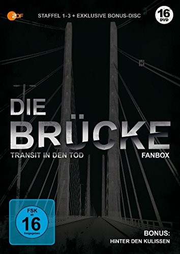 Die Brücke - Transit in den Tod: Staffel 1-3 + Bonus-DVD (limitierte Fanbox) [Blu-ray]