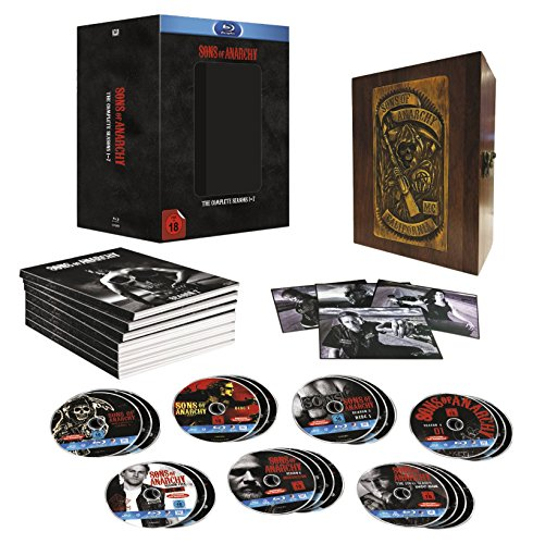 Sons of Anarchy Staffel 1-7 (Limited Edition) [Blu-ray]